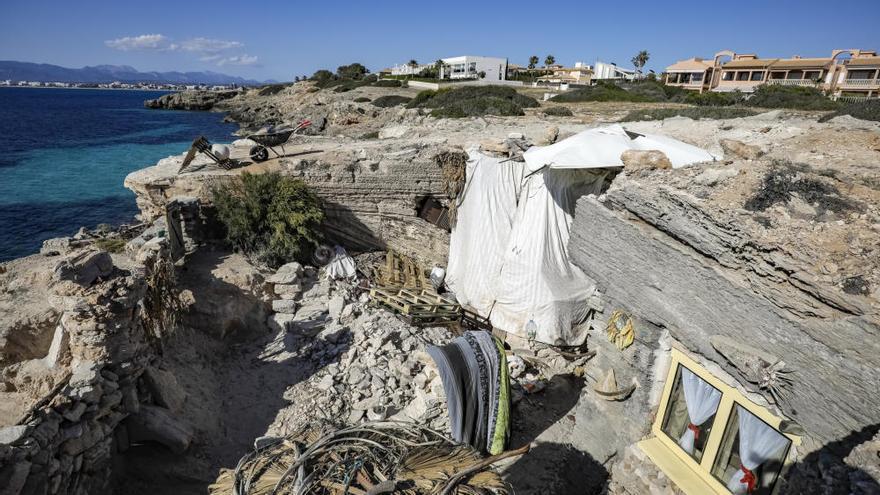 Guardia Civil nimmt Bewohner von Höhle wegen Umweltdelikten fest
