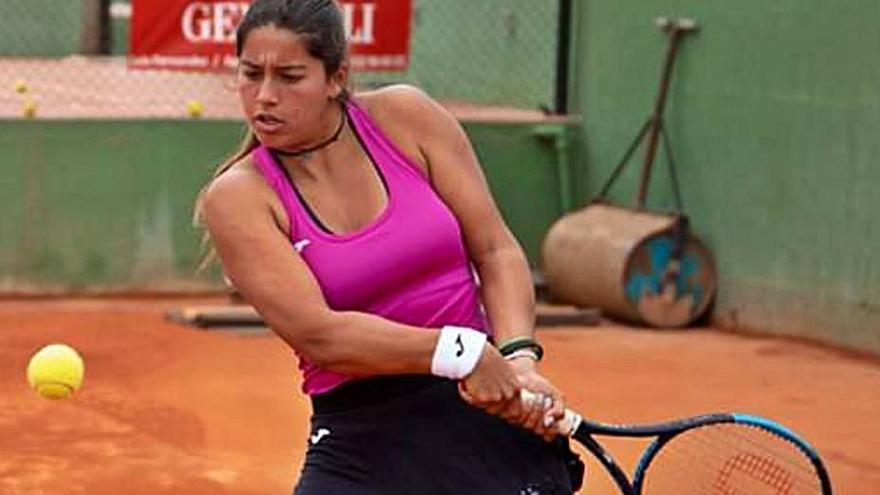 Jéssica Bouzas cae eliminada ante Lena Ruppert en la ronda previa en Antalya