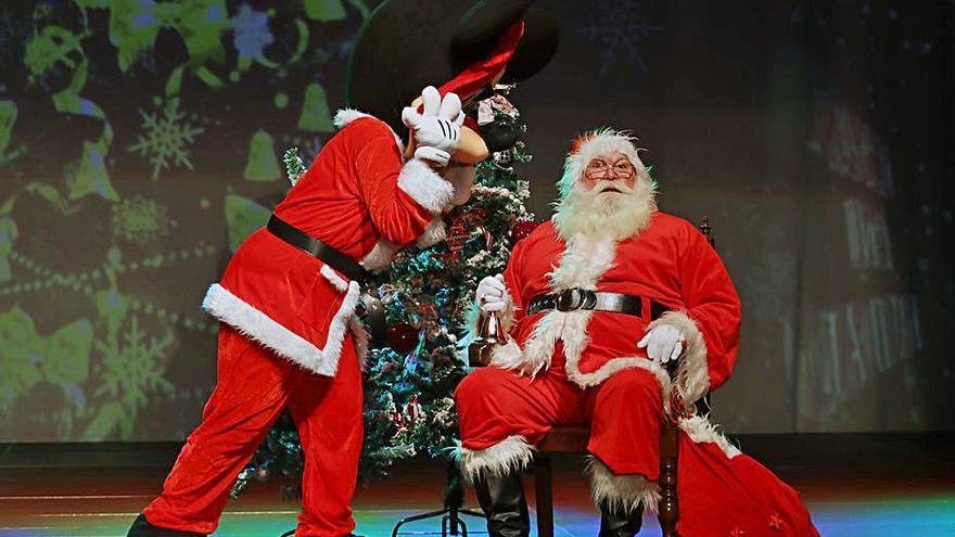 La Villa de Moya mantiene intacta la ilusión navideña pese a las restricciones