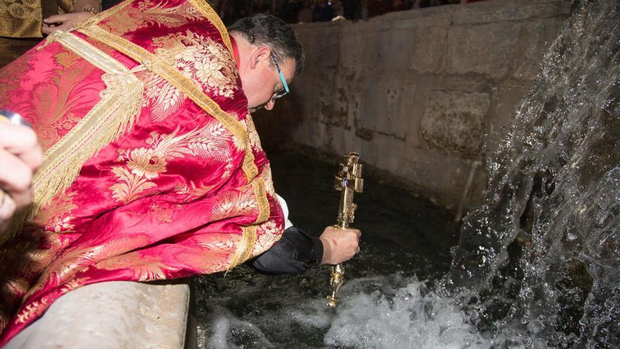 La Delegación del Gobierno no autoriza la petición de realizar el rito del baño en Caravaca