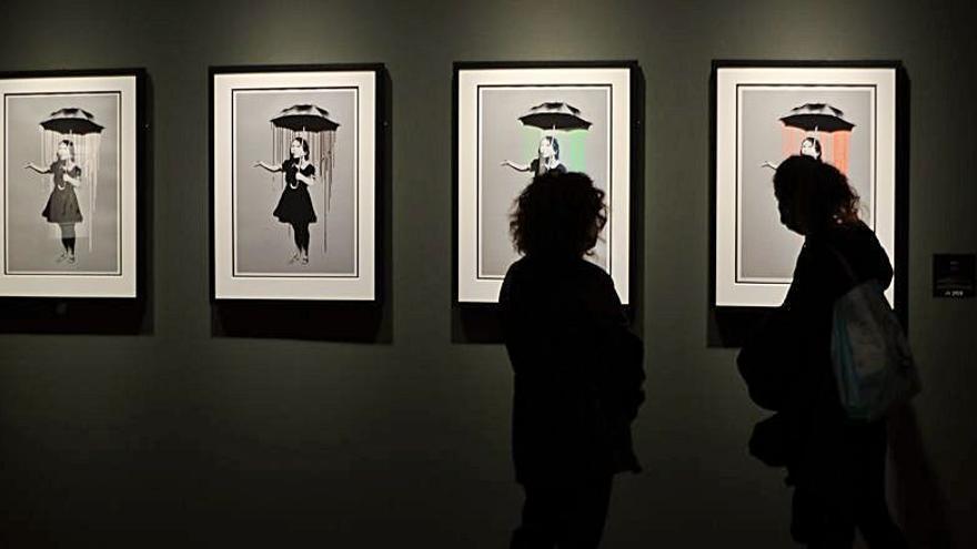 El Círculo de Bellas Artes de Madrid expone más de 60 obras de Banksy hasta mayo