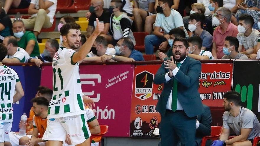 """Josan González y el """"sueño en grande"""" del Córdoba Futsal"""