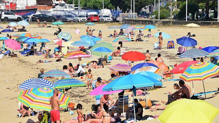 Bueu repite su lista de playas a bandera azul y Banda do Río logra la calificación de excelente