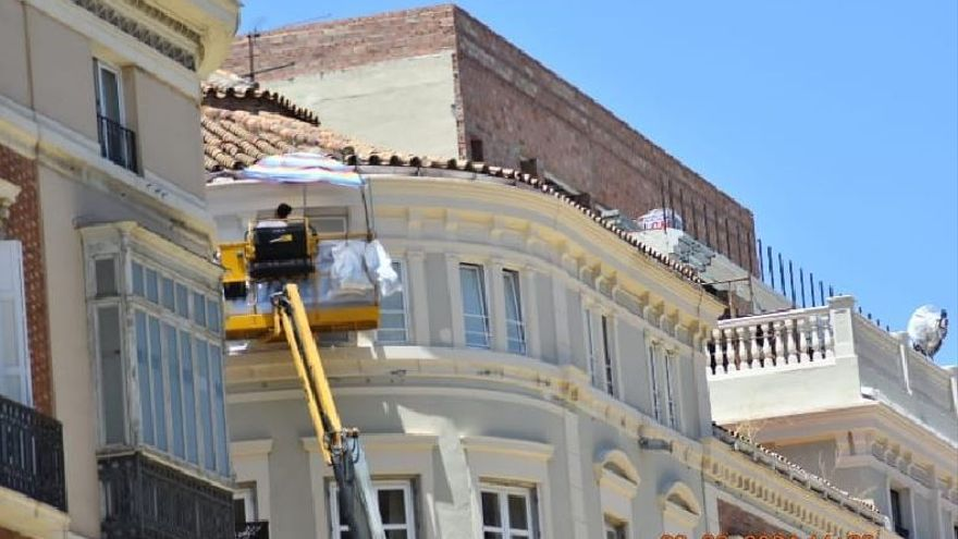 Urbanismo asegura que los añadidos de calle Larios, 10 son legales