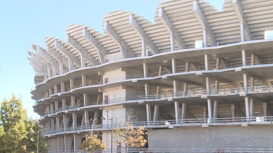 """El Valencia CF da por """"ejecutada"""" la Fase 1 de la ATE del Mestalla y culpa al Ayuntamiento de demoras en las obras"""