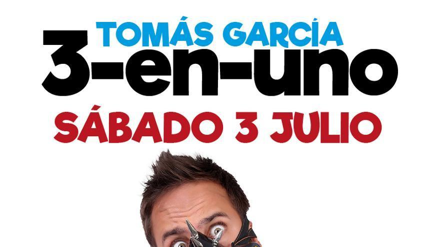 """Tomás Garcá """"3 - en - uno"""""""
