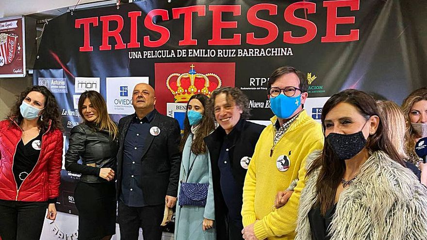 """El Filarmónica acoge el estreno de la película """"Tristesse"""""""
