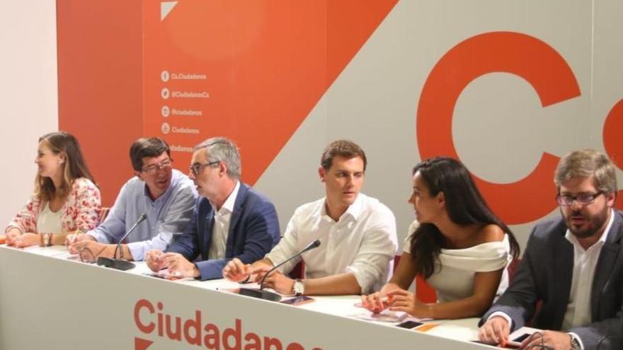 Cs dona per trencat el pacte d'investidura amb el PSOE-A