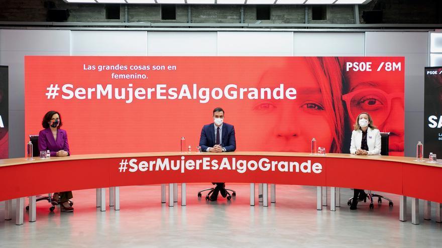 Sánchez perfila el decreto de las ayudas con Calvo, Montero y Calviño