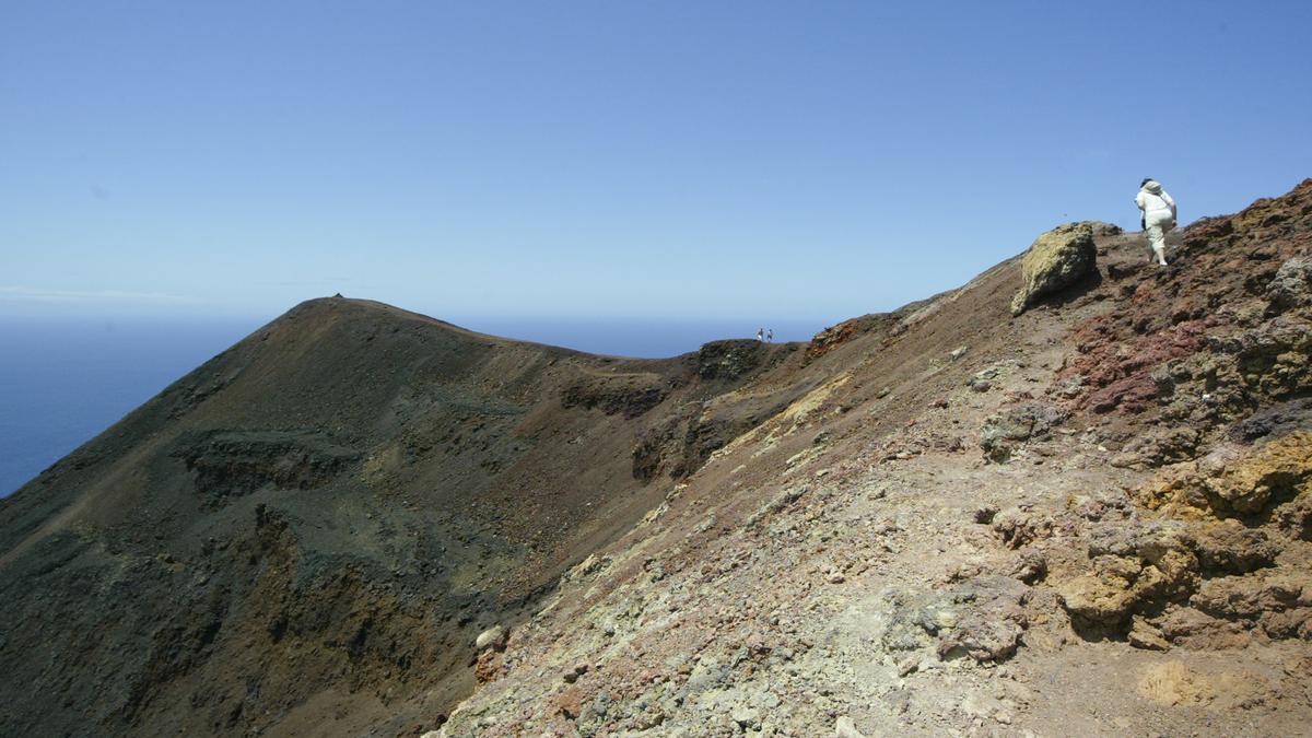 Cumbre Vieja en una foto de archivo.