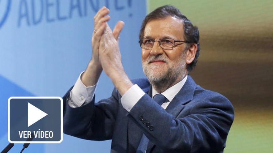 """Rajoy vuelve a liarse: """"Una España a la que 75 millones de españoles vienen cada año"""""""
