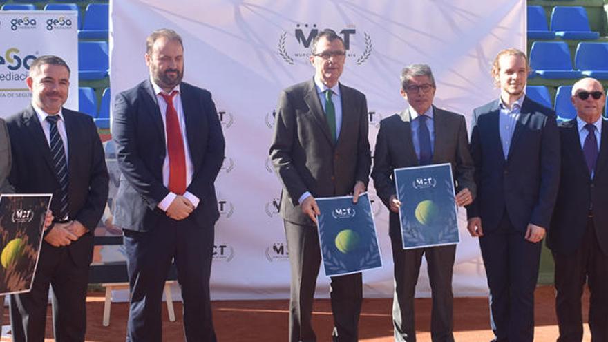 El Murcia CT celebrará un torneo Challenger ATP por su centenario