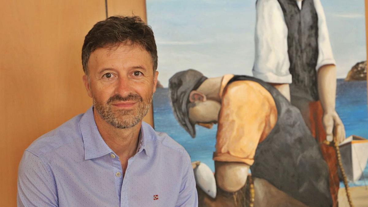 Víctor Puga, a l'Ajuntament de l'Escala, reflexiona sobre els projectes que tenen en cartera