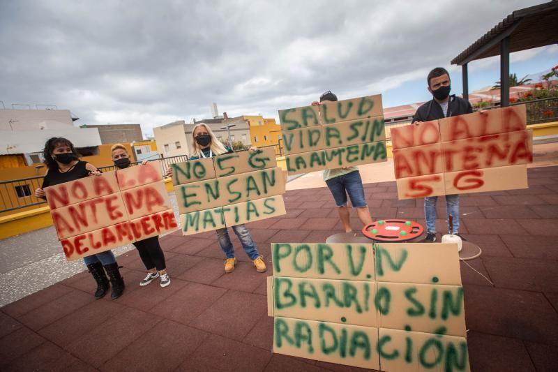 Vecinos de San Martías denuncian la instalación de una antena 5G