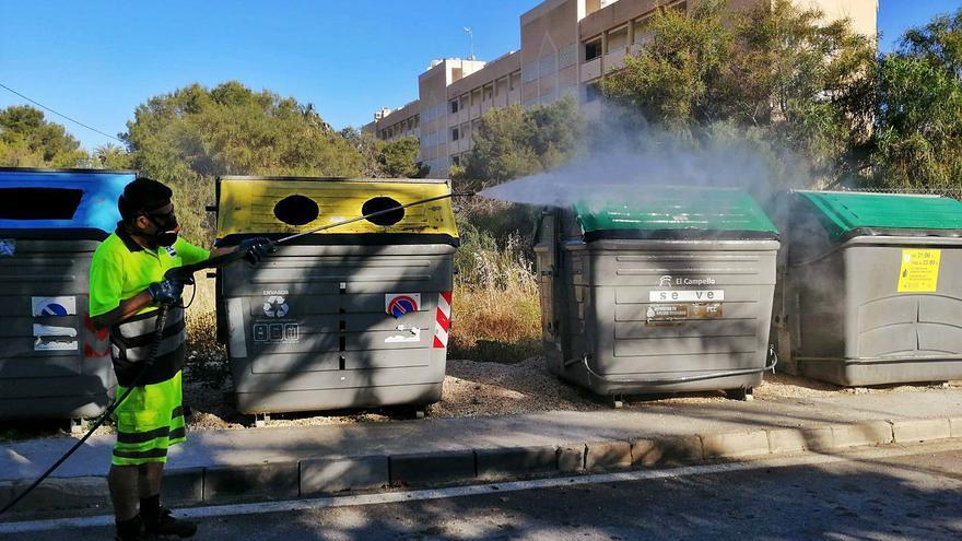 El Campello lleva 4 meses sin pagar la recogida de basura y limpieza viaria tras expirar el contrato