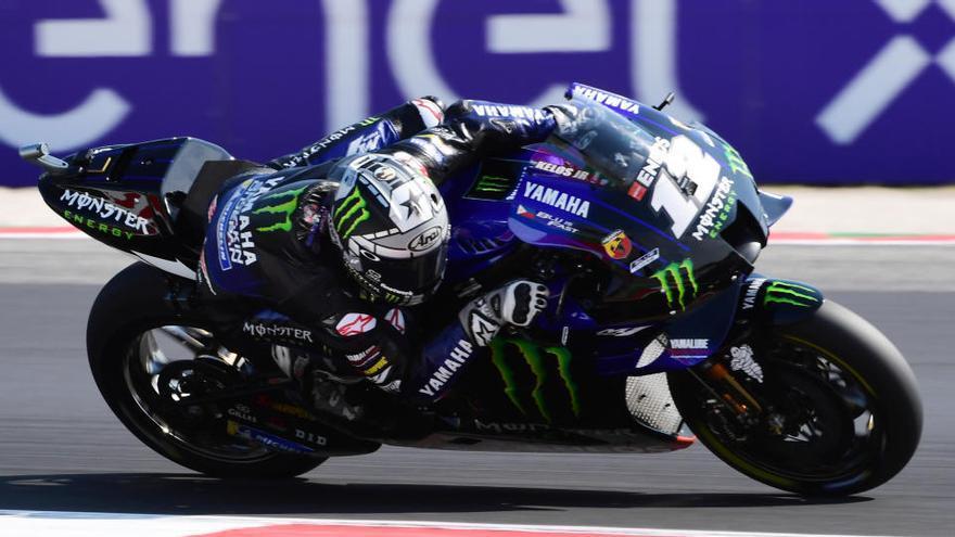 Viñales suma su tercera 'pole' de la temporada en MotoGP