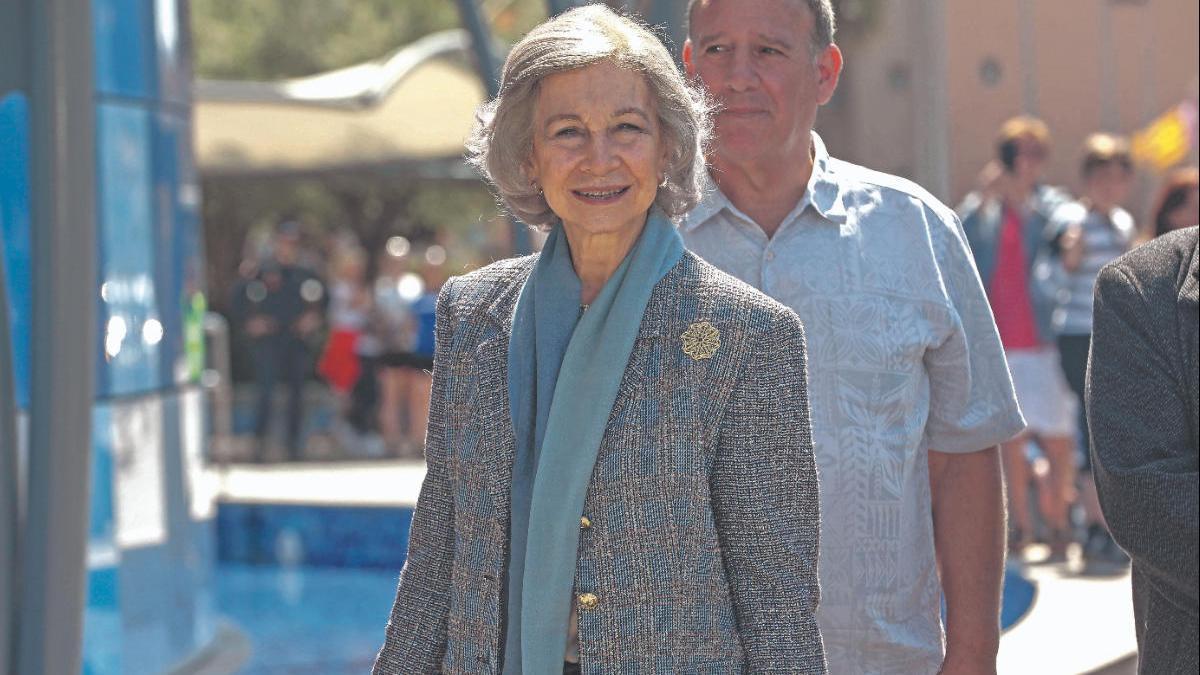 La reina emérita doña Sofía, en Mallorca