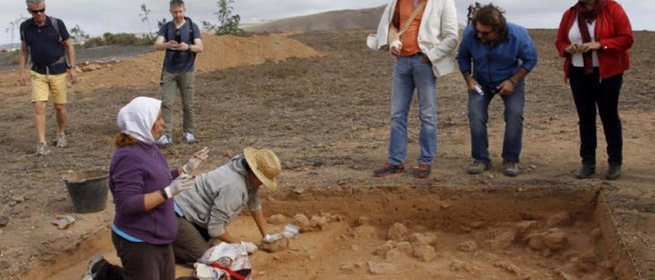 El yacimiento de Zonzamas será uno de los centros turísticos