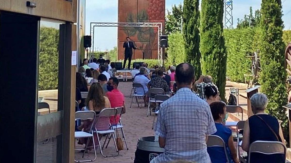 Terraza del Museo del Vino, espacio donde se realiza este ciclo cultural. | Cedida