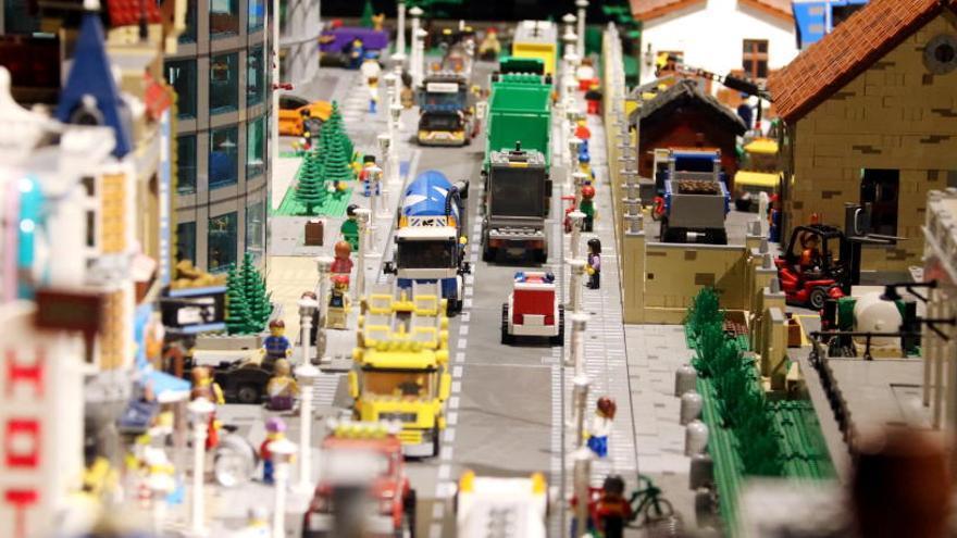 Arriba a Barcelona una de les exposicions de Lego més ben valorades