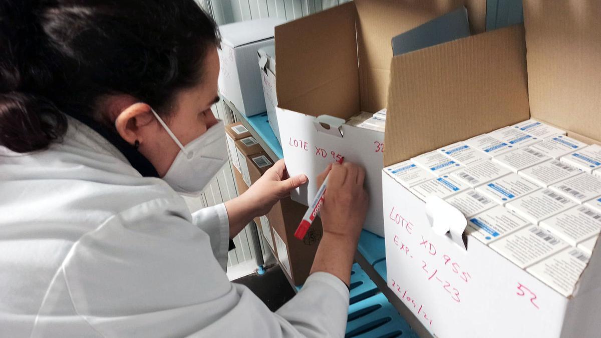 La Comunitat Valenciana ha recibido hoy los primeros viales de la vacuna de Janssen