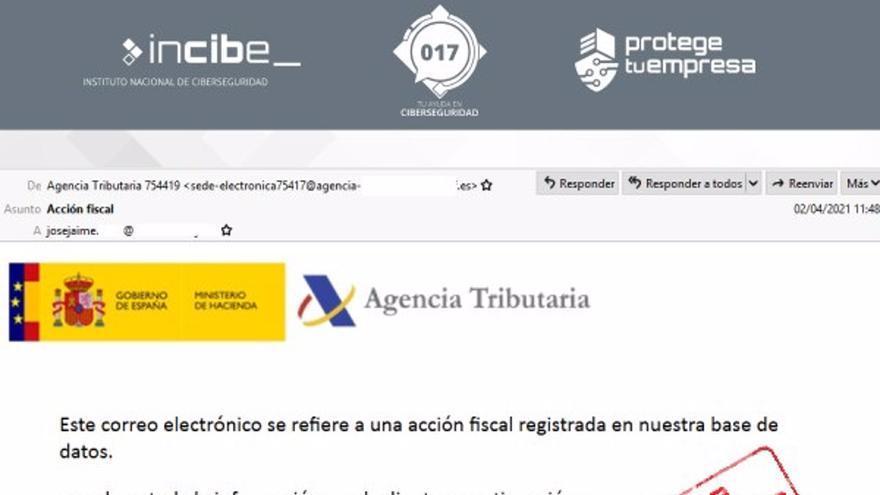 Alertan de un malware que suplanta a la Agencia Tributaria para robar datos en plena campaña del IRPF