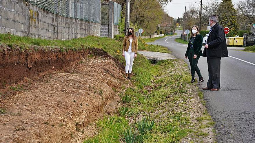 Taboada y Ramos acometerá las sendas periurbanas de los núcleos de Xaxán y Goiás