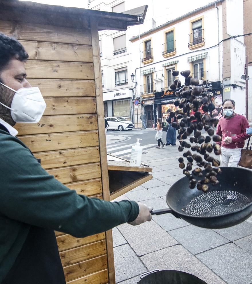 Cáceres, toca asar las castañas