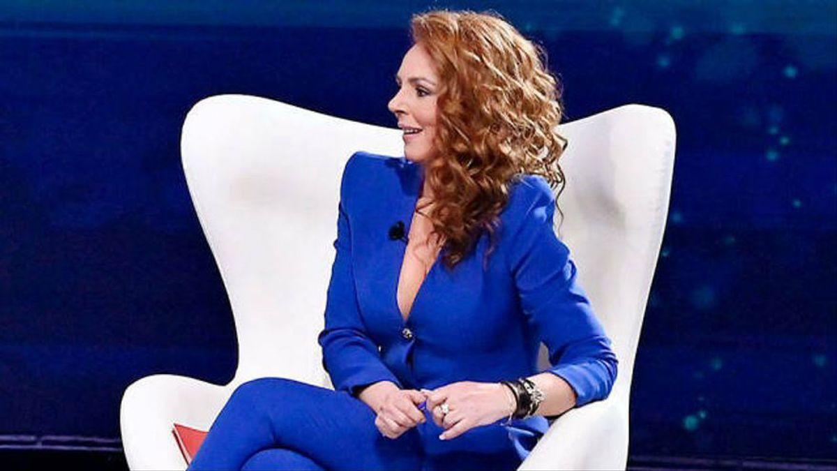 Rocío Carrasco, durante la emisión de su documental.