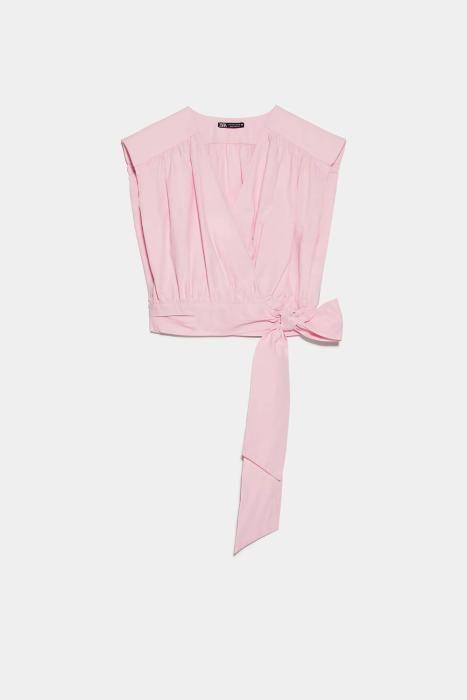 Top rosa de Zara. (Precio: 22,95 euros)