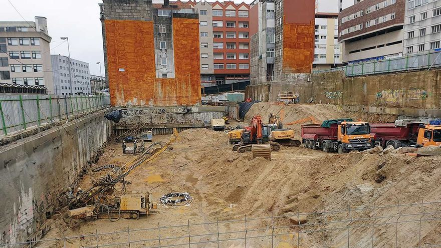 """El """"ladrillo"""" local, deseado más allá de Vigo: atrae firmas que planean un millar de pisos"""