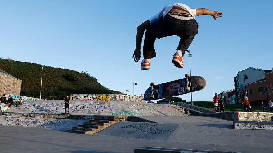 El resurgir de la pista de skate de Cimadevilla