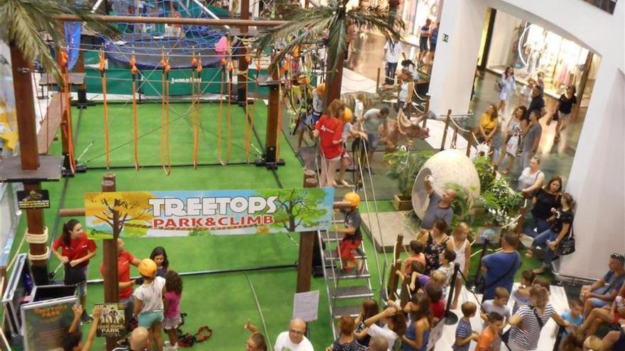 Disfruta de la aventura en 'Treetops Park' en Salera hasta el 2 de septiembre