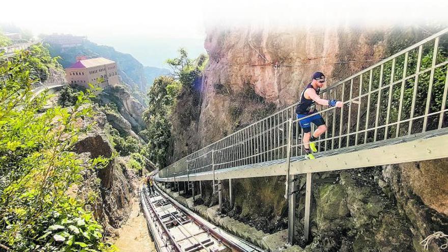 L'edició més inclusiva de la Cursa Vertical Montserrat recapta més de 7.000 euros