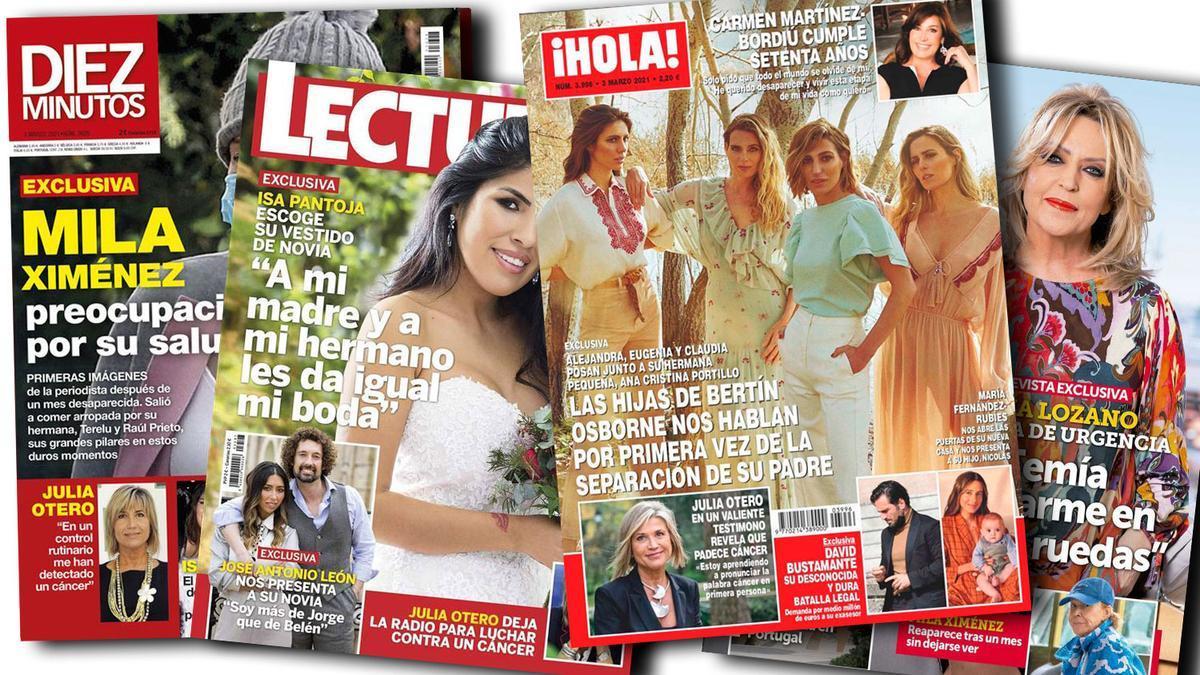 Prensa Rosa: Portadas 24/02/2021