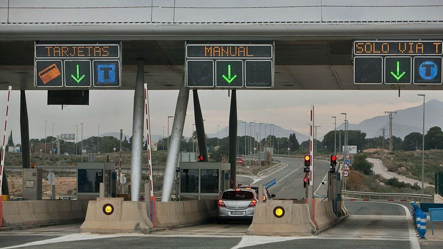 La circunvalación de Alicante cumple un año gratis al faltar una barrera de peaje
