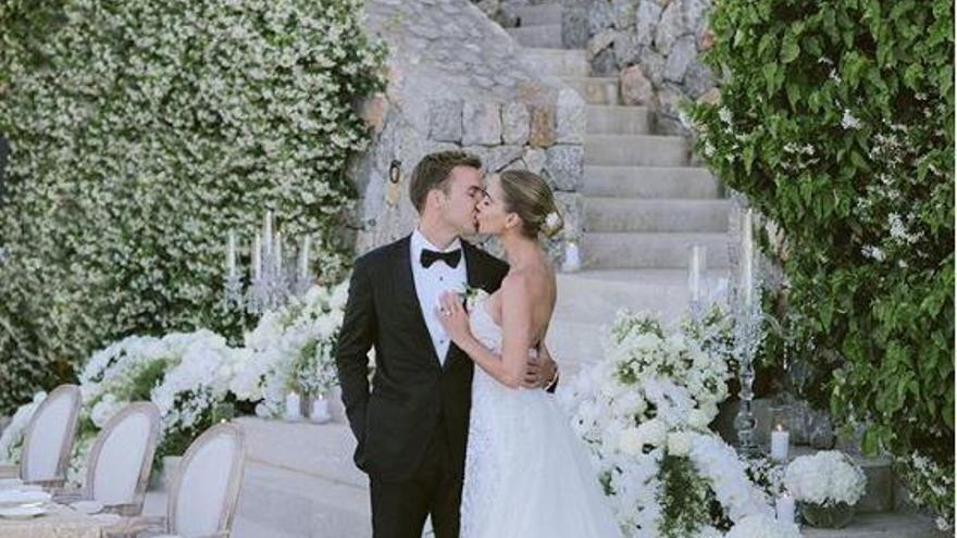 El futbolista Mario Götze se casa en Mallorca
