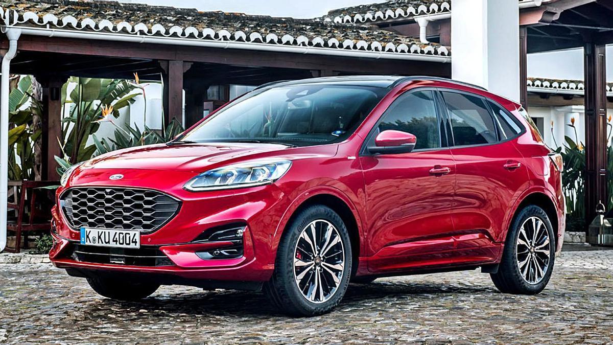 Ford Kuga, galardonado con el 'Mejor coche de Canarias 2021'. | | LP/DLP