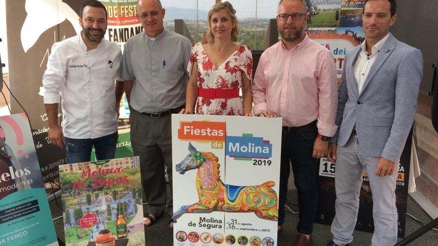Melendi, Mago de Oz y Chenoa actuarán en las fiestas de Molina
