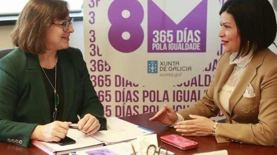 """Mos arranca los actos del Día da Muller con la exposición """"Viveiros"""""""