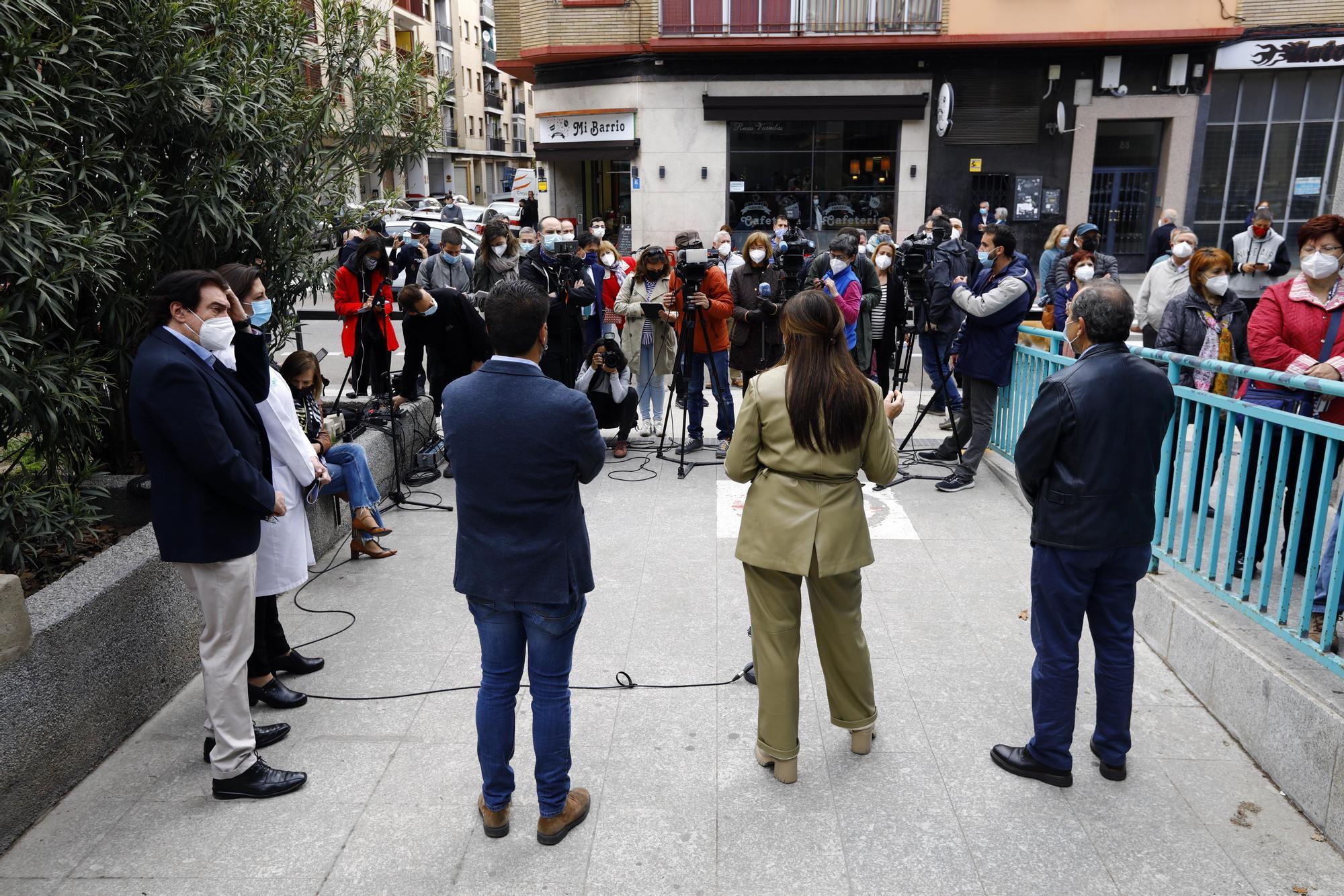Comienza la vacunación de Janssen en Aragón