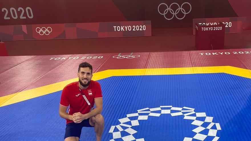 Raúl Martínez, eliminado en octavos de taekwondo ante el croata Toni Kanaet