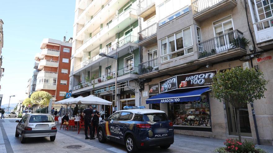 Operación antidroga en Vigo
