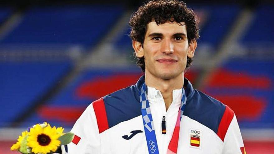 """""""Guardo la medalla olímpica como el trofeo más importante que tengo"""""""