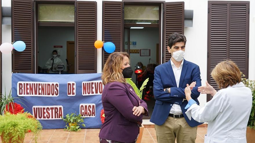 La Unidad de Estancia Diurna para mayores de Coín reabre tras más de un año de pandemia