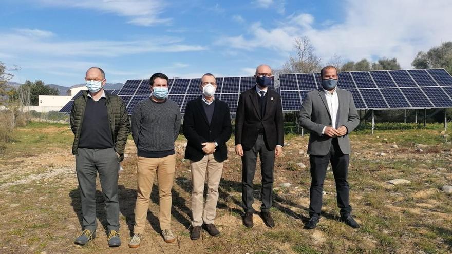 La nueva estación fotovoltaica de la depuradora de Alaró permitirá ahorrar 10.000 euros anuales