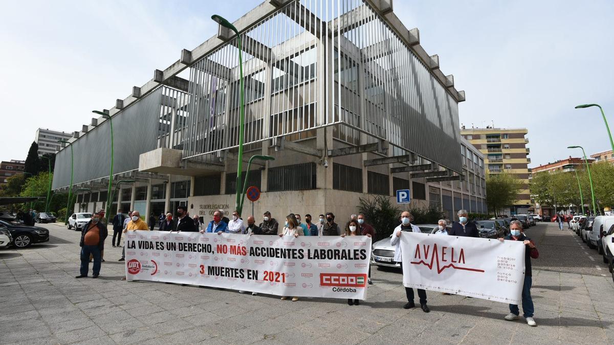 Manifestación de los sindicatos.