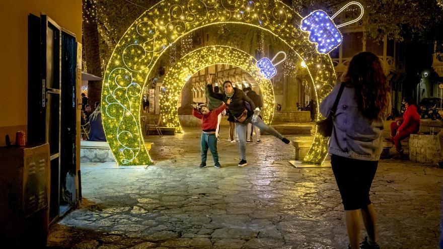 Cort apagará las luces de Navidad en el centro de Palma a las ocho de la tarde