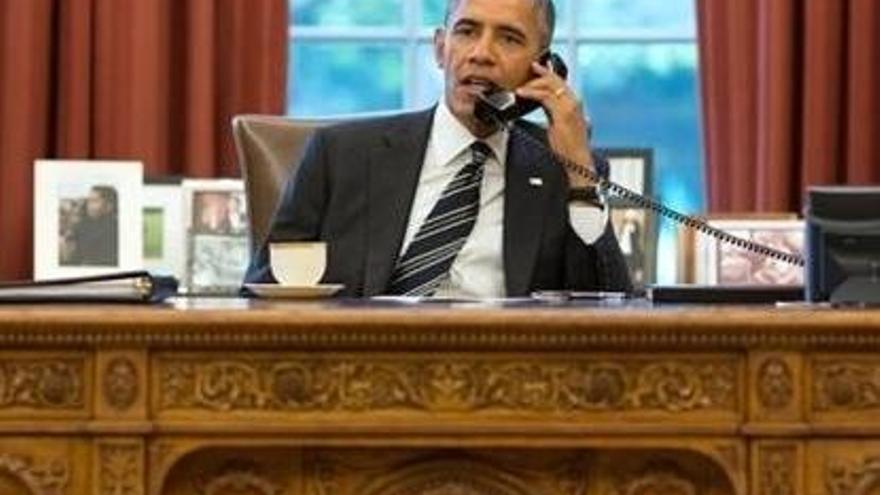 """Obama fa una crida a la """"unitat"""" i al """"respecte"""" i diu que tots els americans estan """"al mateix equip"""""""