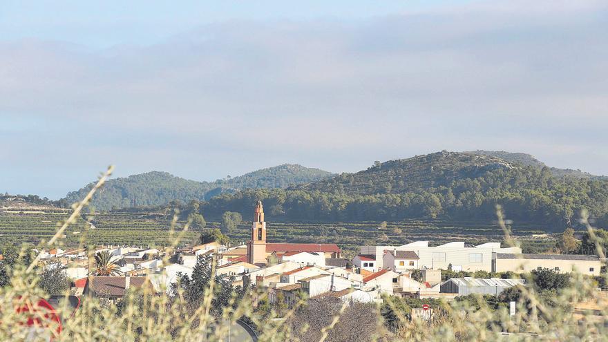 Llocnou de Sant Jeroni, entre la Vall y la Safor